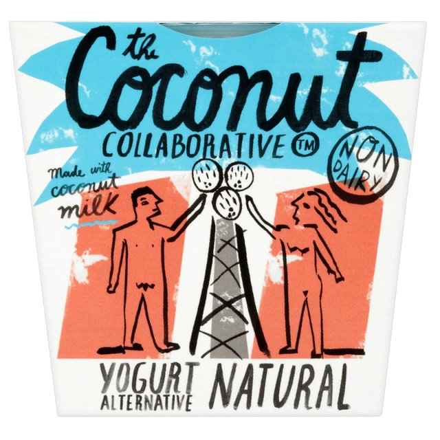Coconut Collaborative Dairy Free Natural Coconut Yoghurt